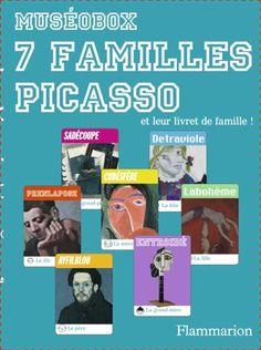 Un jeu des sept familles à partir de détails de peintures de Picasso. Le livret reproduit l'ensemble des oeuvres et en propose une brève description. http://editions.flammarion.com/Albums_Detail.cfm?ID=48020&levelCode=home