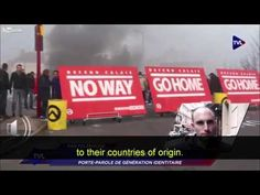 FRANCE: GENERATION IDENTITAIRE's young anti-Islam activists continue to demand closing of borders to illegal alien Muslim invaders…