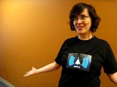 This shirt features an animated display right on the front where your usual graffiti or art would go on any other shirt. It comes in the color black which is loved by everyone so that's a plus. What it does is that it detects Wi-Fi signals around you and then displays them on the animated display featured in the front. It runs on batteries and it saves you the time to manually look for a Wi-Fi.