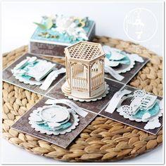 Hummingbird Workshop: 363! Wedding box / Pudełko ślubne