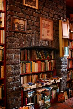 If you can't have a fire in your fireplace, curl up around and with a book!
