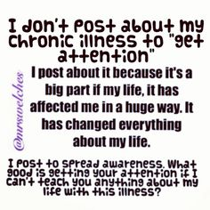 Chronic illness