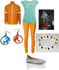"""Portal inspired!"" by magrka on Polyvore"