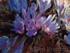 ©Jen Evenhus pastels. 9x12 pastel  SOLD