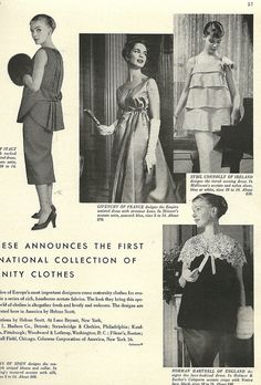 1959 Maternity Clothes