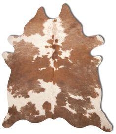 Kobe Cowhide Rug Brown & White - Natural Brand - $349 - domino.com