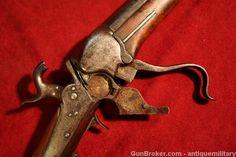 Sharps 1851 Slant Breech Sporting Rifle - 60 bore : Antique Guns at GunBroker.com