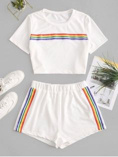 ZAFUL Europe offers a wide selection of trendy fashion style women's clothing. Affordable prices on new tops, dresses, outerwear and more. Cute Lazy Outfits, Teenage Outfits, Crop Top Outfits, Outfits For Teens, Pretty Outfits, Stylish Outfits, Stylish Clothes, Girls Fashion Clothes, Teen Fashion Outfits