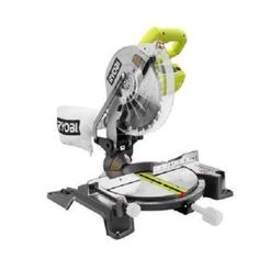 Factory-Reconditioned Ryobi ZRTS1345L 10 in. Compound Miter Saw with Laser Line - - Amazon.com