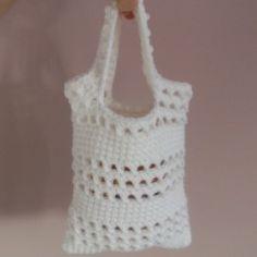 Small Beginner Crochet Bag - Free Beginner Crochet Patterns Site