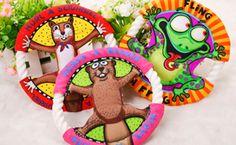 Aliexpress.com: Comprar Envío gratis Popular juguetes para mascotas peces gordos de la historieta Frisbee diente Molar limpieza perro gato, animales domésticos : artículos UFO juguetes 3 Color de juguete del patín fiable proveedores en Shenzhen Robinson International Trade Group
