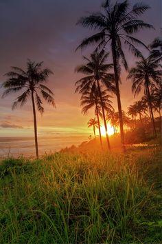 Sunset at Ujung Genteng by cepdanie ™ on 500px