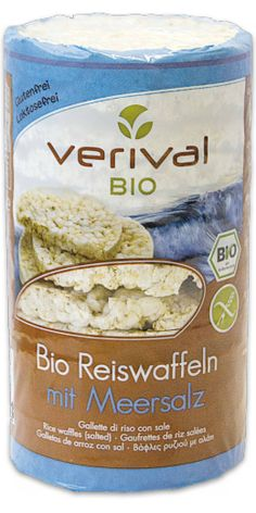Reis-mit-Salz-knusprig-758100 - Waffeln - Snacks - Verival Bio Produkte Müsli