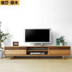 Solid Wood Tv Cabinet - Foter