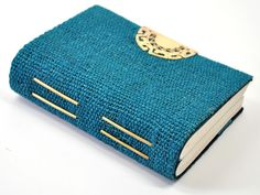 Salinar Tribal Linen Journal Aqua