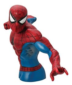 Monogram SpiderMan Action Figure Bust *** You can find out more details at the link of the image.