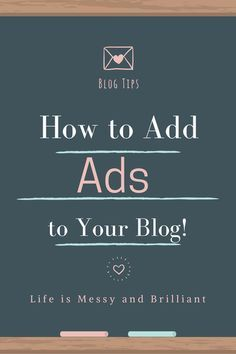 On this blog post, I'm going to teach you how to use Quick Adsense to place ads on your blog. You should not put codes on every blog post, because it would be really painful to remove them later on if you no longer work with that company or if you modify that code.