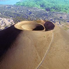 """life: """"Extinct cinder cone volcano in Lassen Volcanic National Park, (Ralph Crane—The LIFE Picture Collection/Getty Images) """" Cinder Cone Volcano, Champs, Places To Travel, Places To Visit, Us National Parks, California Travel, Volcano California, Life Pictures, National Forest"""