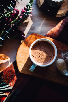 Coconut Water Hot Chocolate — Will Frolic for Food - - Coconut Water Hot Chocolate — Will Frolic for Food smoothies, juices + sips Kokoswasser heiße Schokolade But First Coffee, I Love Coffee, Best Coffee, Coffee Break, Coffee Shop, Coffee Wine, Coffee Drinks, Momento Cafe, Chocolate Covered Coffee Beans