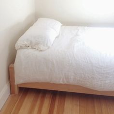 the bed we built