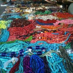 Beads in Warrenton, Tx.