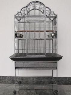 Parrot Cage Macaw Cockatoo African Grey Bird Cage Q39-3223 S - http://www.petsupplyliquidators.com/parrot-cage-macaw-cockatoo-african-grey-bird-cage-q39-3223-s/