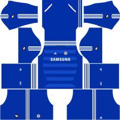 Chelsea Kits   Logo  2018-2019  Dream League Soccer ea6dce9bb