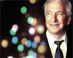 Alan Rickman. Just to hear him speak...I could give him the phonebook and I would have entertainment all night..
