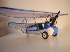 M1:33, Mignet Pou-du-Ciel Free Aircraft Paper Model Download