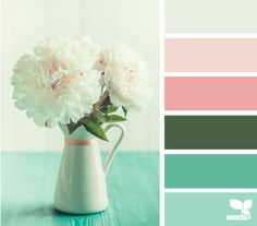 flora palette | 10 Gorgeous Spring Color Palettes for Your Graphic Designs