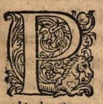 lettrine cheval 1602/ initial letter horse 1602