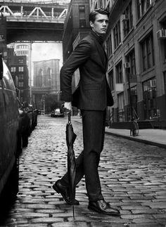 That suit, Massimo Dutti.