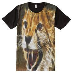 This beautiful electrified cheetah looking at you with his big teeth and black lips and a orange back ground. Stylish Shirts, Cool Shirts, Big Teeth, S Shirt, Fashion Pictures, Cheetah, Printed Shirts, Cool Stuff, Stuff To Buy