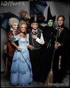 Original cast of Wicked. Yes, I'm a wee bit obsessed with this show.