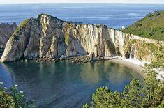 Playa de Santa Marina Cudillero (Asturias) Spanish Courses, Asturias Spain, Costa, Spain Travel, Vacation Destinations, Places To See, The Good Place, Santa Marina, Journey