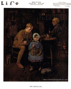 Her Adopted Son by Norman Rockwell (1918)