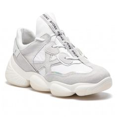 23b0e8fb9 Sneakersy BRONX - 66240-CP BX 1574 Light Grey/Off White 2324