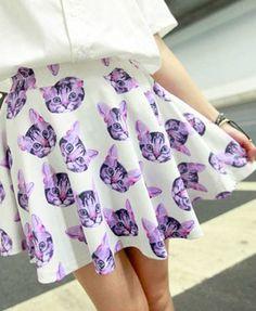 cats skirt #kawaii #cute