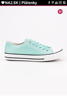 Klasické mätové plátenky J. Chuck Taylor Sneakers, Chuck Taylors, Star, Shoes, Fashion, Moda, Zapatos, Shoes Outlet, Fashion Styles