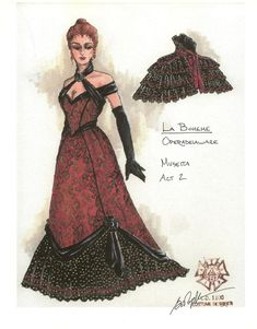 Gregory A. Poplyk Costume Designer La Boheme