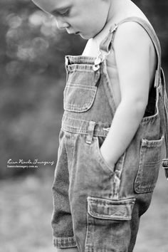 Love this, what a sweet little boy... toddler photography @Lindsey Grande Cockerham, does Tanner have overalls????