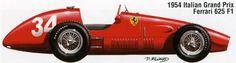 1954: Ferrari 625 F1