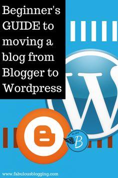 Moving From Blogger to WordPress Migration via FabulousBlogging.com