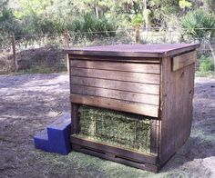wooden hay feeders for horses - Bing Images