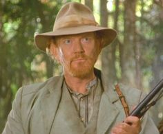 Peter McCauley (March 8, 1950) New Zealand actor, o.a. known as Professor Challenger in the series 'The Lost World', here in 1999.