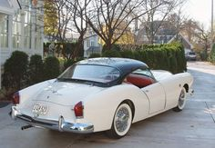 1954 Kaiser Darrin - A unique sports coupe with doors that slide into a pocket behind the front wheel well