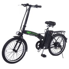 "Goplus 20"" 250W Folding Electric Bike Sport Mountain Bicycle 36V Lithium Battery"