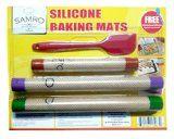 Silicone-Fibreglass Baking Mat Set http://www.amazon.com/Silicone-Professional-Measurements-Non-stick-Non-toxic/dp/B00PG8HJQE
