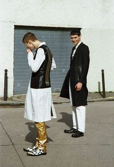 Photography // Jeroen (Major Paris) and Mayrone (New Madison Paris) SSAW magazine SS13 / stylist Tuomas Laitinen / grooming Jenny Jansson / assistant Lauri Kopio