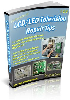 All about LCD & LED Television repair tips & problem solution. This guide is straight to the point where you may found the LCD TV repair tips or problem solution on which section is fail and what component is failure and need to replace. Electronic Kits, Electronic Circuit Projects, Electronic Schematics, Electrical Projects, Electronic Books, Electronic Engineering, Electronics Basics, Electronics Projects, Electronics Components